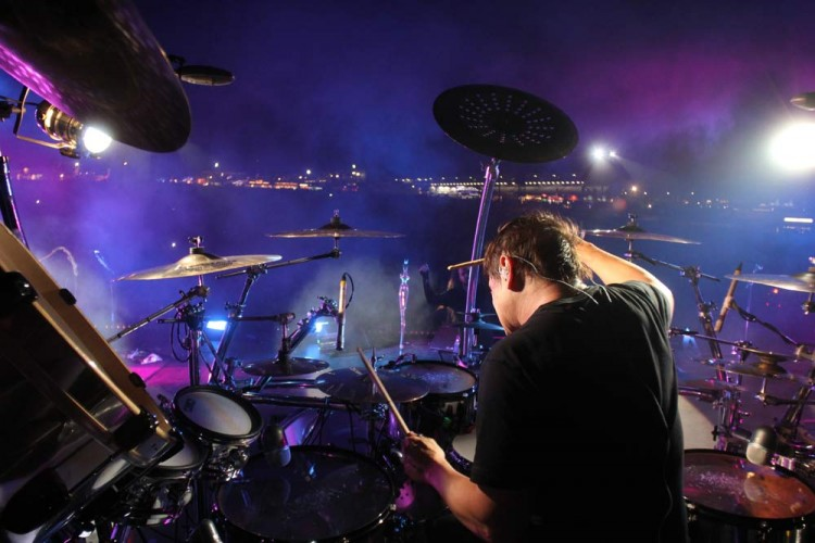 In the hot seat with Ray Luzier.
