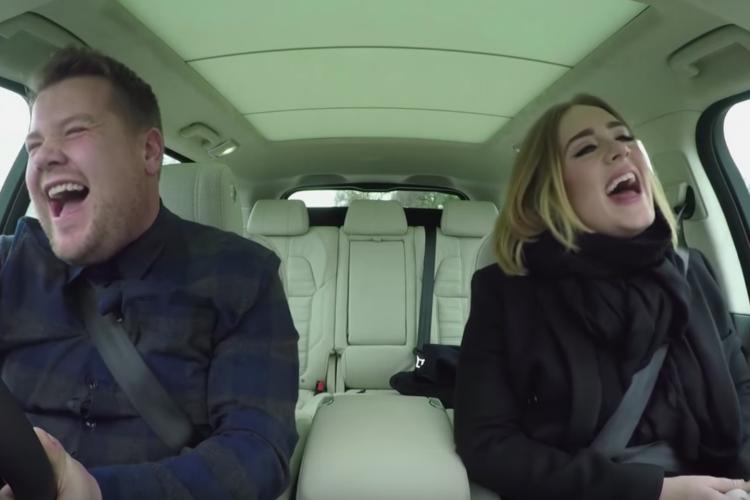 Carpool Karaoke with Adele