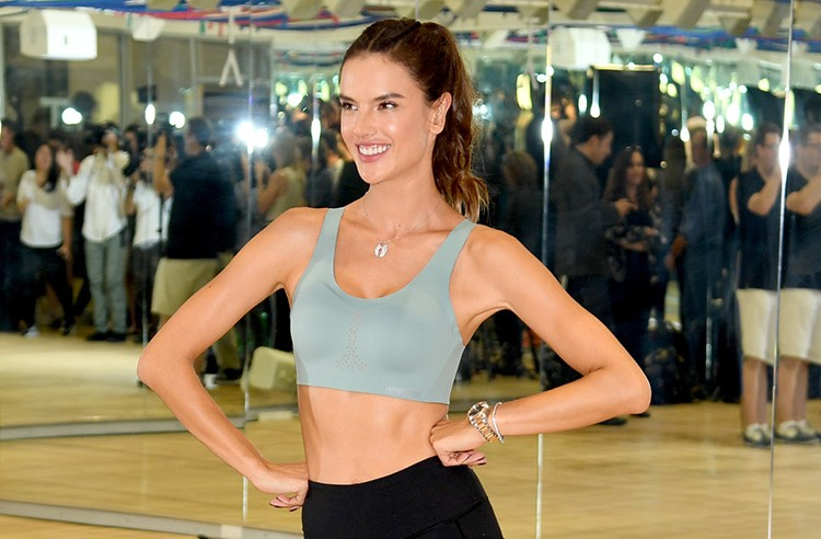 Alessandra Ambrosio's Opinion On Taking Care Of Her Body